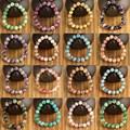 10mm Ronda 100% Piedra Natural Pulseras Elásticas y Brazaletes para Hombres Mujeres Moda Europea pulseras de la amistad Joyería homme