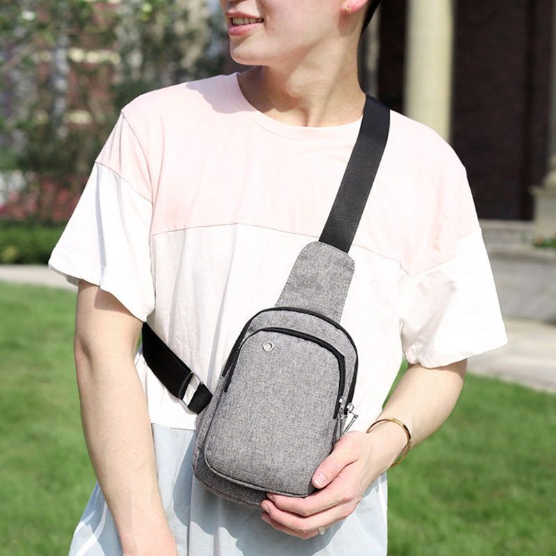 Men Anti Theft Backpack Headphone Hole Women Travel Chest Bag Single Shoulder Boys Girls Chest Bags Sac A Dos Homme Bolsa BP0245 (13)