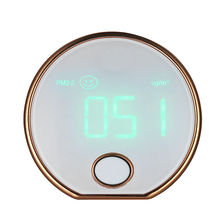 цена Mini Portable Indoor Haze Dust PM2.5 Gas Analyzer Meter Detector air quality monitor Air Particle Counter HT-403
