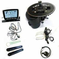 68/100/120mm BB tamaño Tongsheng TSDZ2 DIY Kit ebike Motor sensor de torsión 36 V/48 V/52 V Motor de conducción media Ebike con acelerador y freno