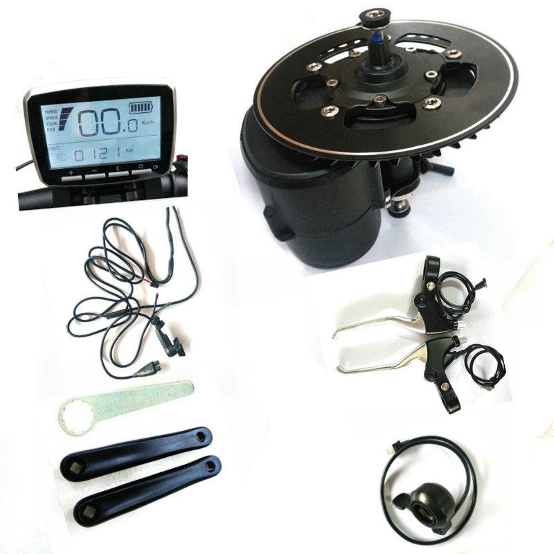 68/100/120mm BB SIZE Tongsheng TSDZ2 DIY ebike Kit Motor,Torque Sensor 36V/48V/52V Mid Drive Ebike Motor With Throttle And Brake