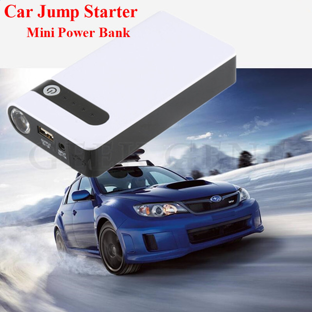 2017 Hot Selling Emergency 12000mAh 12V Car Jump Starter Portable 400A Peak Auto EPS Mobile USB Power Bank SOS Lights Free Ship
