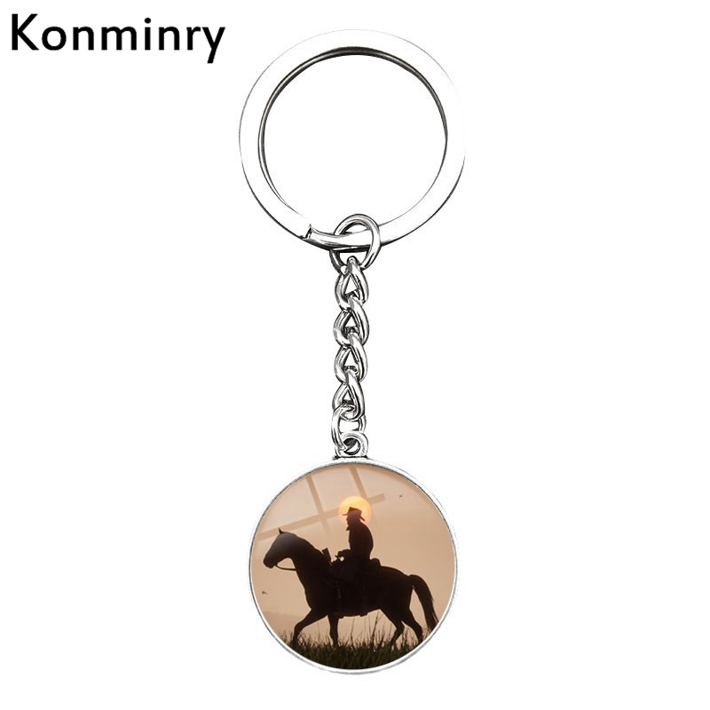 Costumes & Accessories Imported From Abroad New Game Red Dead Redemption 2 Keychain Metal Key Ring Chain 3d Gun For Men Car Women Bag Jewelry Souvenir Chaveiro Llaveros Novelty & Special Use