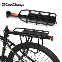 Coolchange bicicleta de montaña accesorios bicicleta estante portabicicletas portaequipajes puede cargar