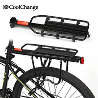 CoolChange Bicycle Accessories Mountain Bike Carrier Cargo Rear Rack Shelf Bicycle Luggage Rack Can Load