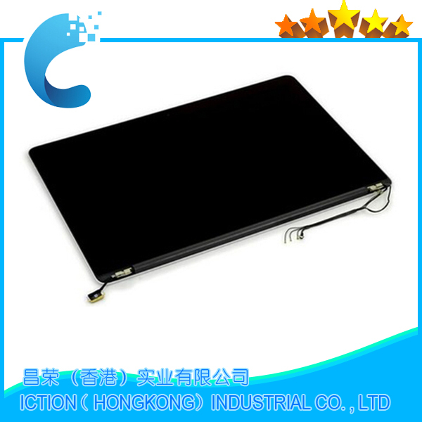A1398 Original New for Macbook Retina 15.4inch A1398 LCD Screen Complete Display Assembly Late 2013  2014 ME293 ME294 original a1425 lcd screen assembly for macbook retina 13 a1425 lcd display full assembly late 2012 early 2013 md212 md213 ll a
