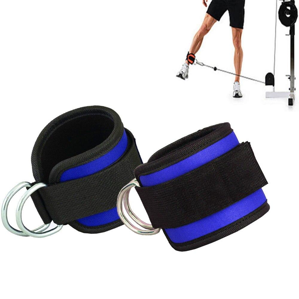 1 Cair Crossfit Ankle Cuffs Müqavimət Qrupları Lateks Elastik - Fitness və bodibildinq - Fotoqrafiya 4