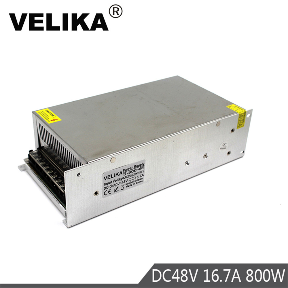 DC Power Supply Switching 48V 16 7A 800W Driver Transformers 220V 110V AC to DC48V Power