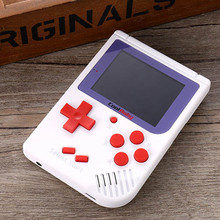 Built-in 129 Classic Games 8 bit 2.0 inch LCD Color Game Console RS-6 Retro Mini Handheld Game Player For Boy Hand Held Games цена и фото