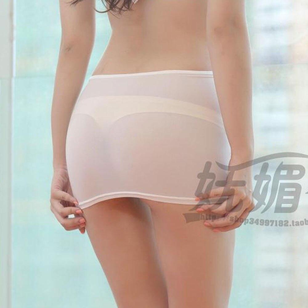 микро юбки в прозрачном