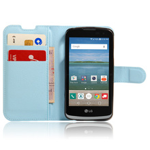 For LG Zone 3 K121 (Canada K4)Phone Cases Coque Stand Wallet Style PU Leather Cover Case For LG Zone 3 Cover And Card Holder(China)