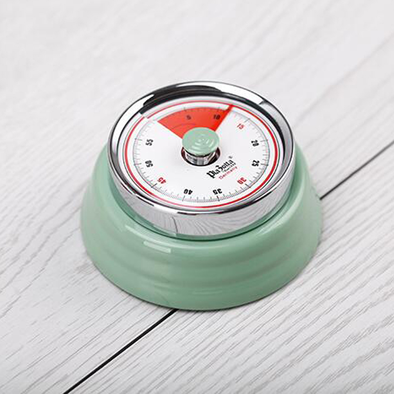 Bon 55 Minutes Kitchen Timer Mechanical Cooking Alarm Counter Clock Baking  Reminder Stainless Steel Manual Countdown Magnet Watch In Kitchen Timers  From Home ...