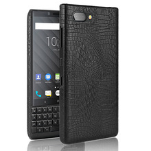 Crocodile skin texture PU Leather Hard Phone case for BlackBerry key2 key two Q20 one Mercury dtek70 edition sliver Q30 PRIV