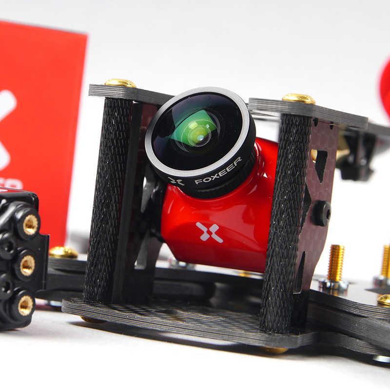 2018 nueva llegada Foxeer depredador V2 estándar/Mini 1000TVL FPV cámara Super WDR 1000TVL 2,5mm 1,8mm. /NTSC 4:3 para Dron RC