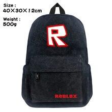 b5bf0425505a0 2018 Sıcak Oyun Roblox okul çantası Sırt Çantaları Kitap Dizüstü Sırt  Çantaları çocuk Okula geri hediye