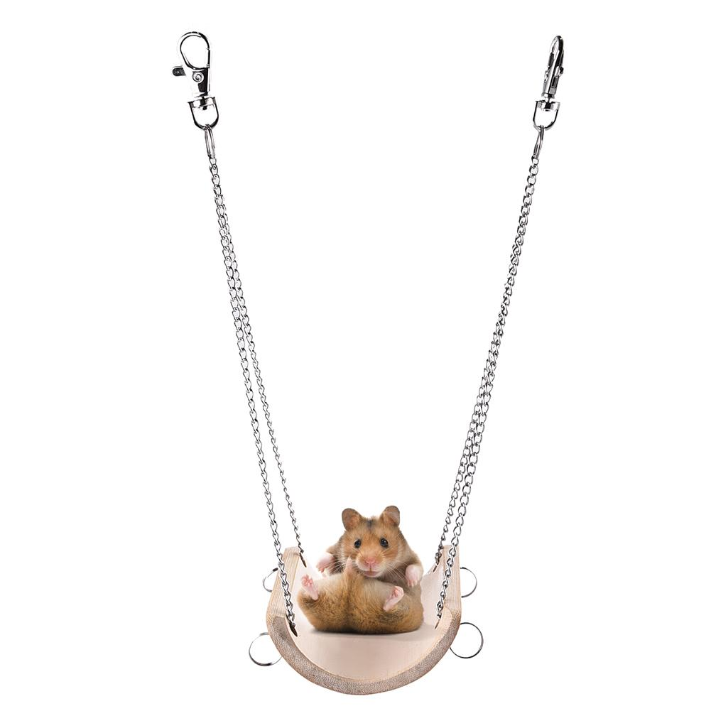 Hamster Toys Swing For Small Pets Hamest Squirrel Guinea Pig Chinchilla Ferret Rabbit Toys Swing Accessories Brinquedos