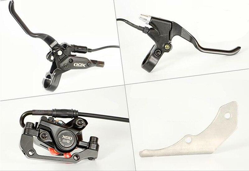 Ebike vélo hydraulique frein à disque électrique contrôle de puissance manette de vitesse frein à disque hydraulique frein à vélo