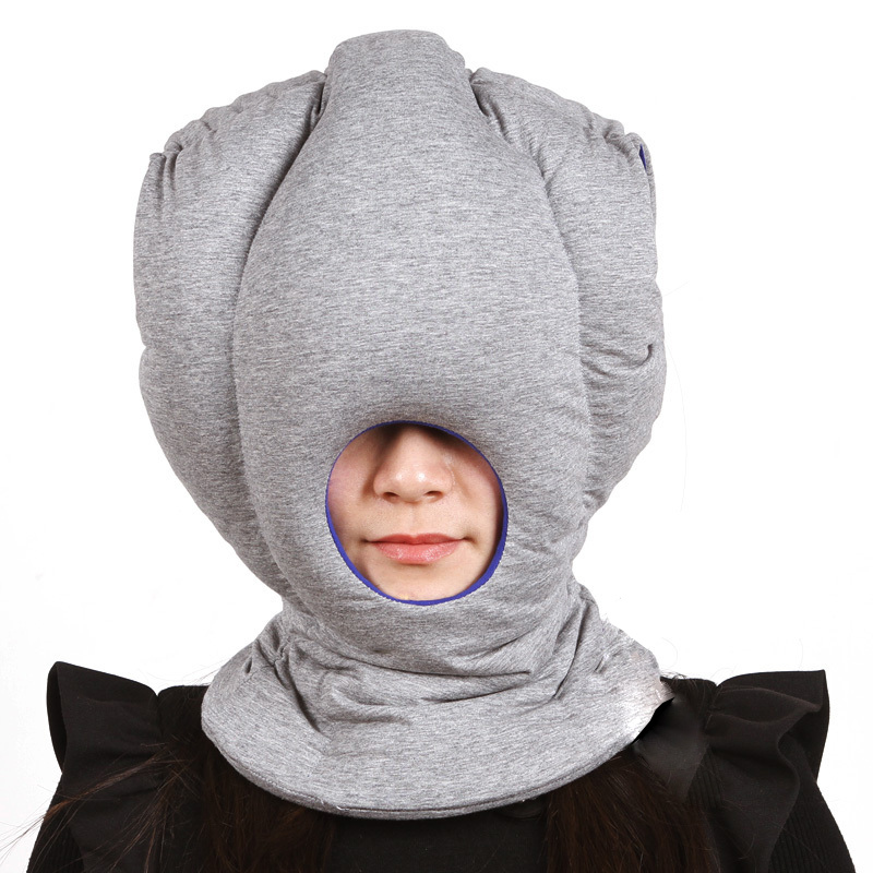 funny office cushion the portable ostrich pillow creative traveling pillow best birthday gift sleeping mask anti apnea pillow
