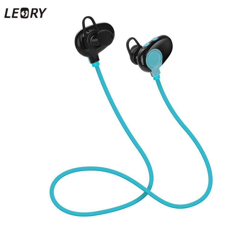 LEORY Stereo Wireless Earphone Sport Headset Blueooth Earphones With Mic For LG For L3 Phones Sweatproof Earbuds Universal hot high quality sports stereo earphones with mic 3 5mm universal use for mobile phones mp3 mp4 gg11101
