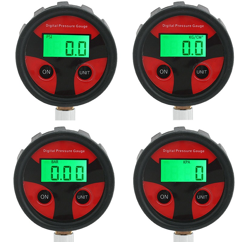 Tire LCD Digital Air Pressure Gauge Meter