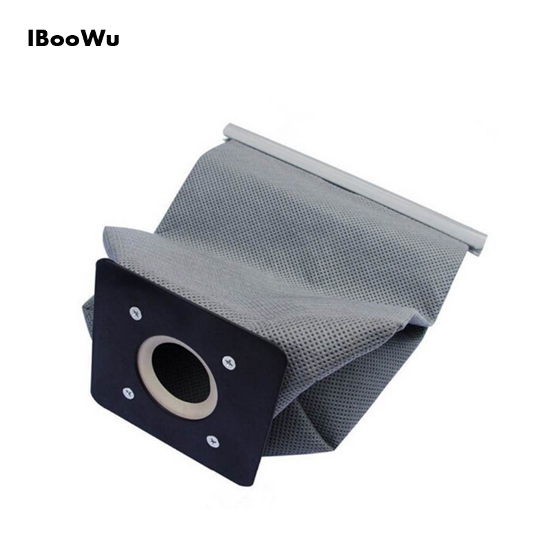 IBooWu 11x10cm Washable Vacuum Cleaner Cloth Dust Bag For Philips Electrolux Haier Samsung Universal