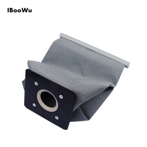 IBooWu 11x10cm Washable Vacuum Cleaner Cloth Dust Bag For Philips Electrolux Haier Samsung Universal Vacuum Cleaner Dust Bag(China)