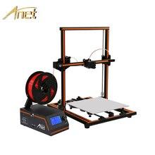 Новый Anet E10 E12 Easy Impresora 3d принтер Рождественский подарок «сделай сам» Полный алюминиевый импримант 3D Большой размер Reprap i3 большой 3d принтер