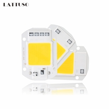 Ultron Lighting LED COB Lamp Chip 10W 20W 30W 50W 220V 110V Input Smart IC Driver Fit For DIY LED Floodlight Spotlight