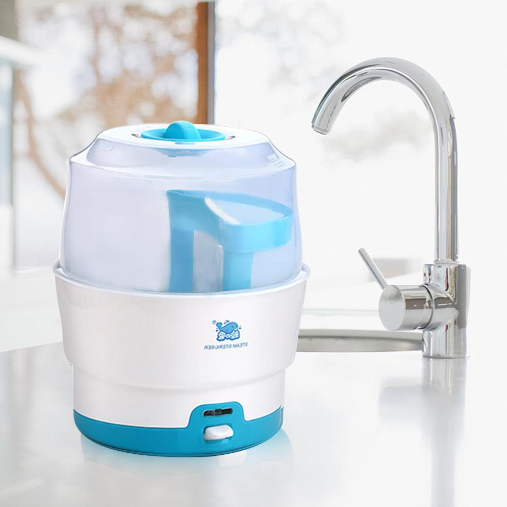 Baby Bottle Sterilizer High-capacity Multi-functional Anti-dry Heat Steam Sterilizer 220V Triangular Cable Order Note ConverterBaby Bottle Sterilizer High-capacity Multi-functional Anti-dry Heat Steam Sterilizer 220V Triangular Cable Order Note Converter