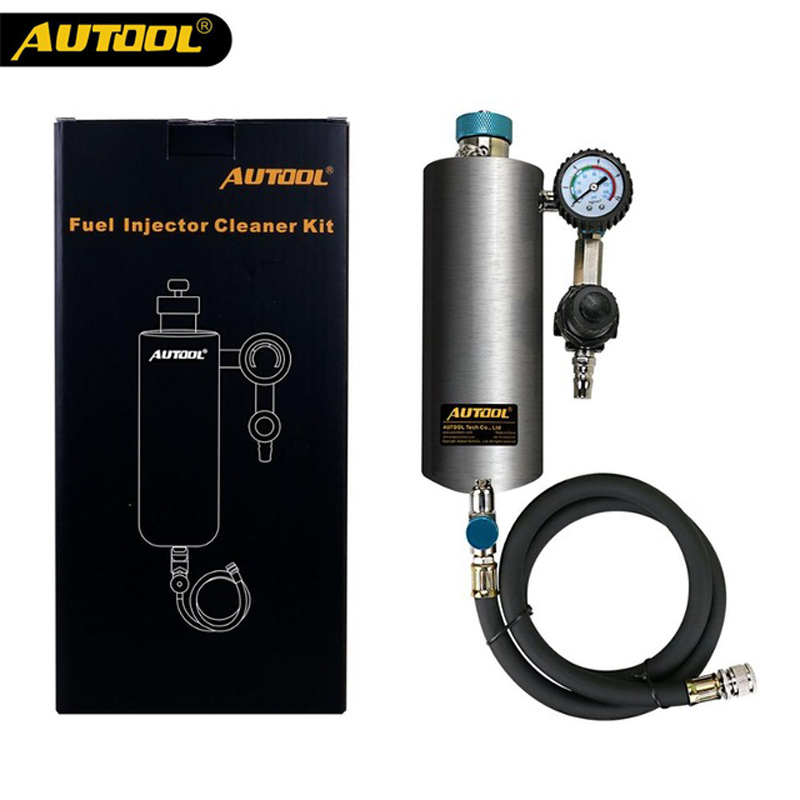 цена на AUTOOL C80 Non-Dismantle Auto Injector Cleaner Auto Fuel Injector Cleaner Car Fuel Injector Tester Fuel Injector Washing Tool