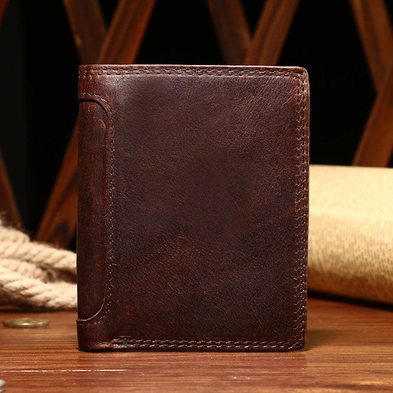 NEWEEKEND 5230 Genuine Leather Oil Top Skin Vertical Lichee Pattern Short Thick Cash Money Wallet Purse Holder for Man 5230 б у белорусь