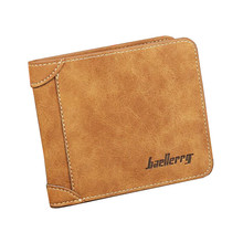 Men Wallets Famous Brand Mens Wallet Male Money Purses 2 Fold Simple New Design Top Wallet for Man Card Holder Casual Purse W009