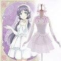 Love Live! School Idol Project Awakening Bridesmaid Nozomi Tojo Cosplay White Wedding Dress Mini Dress Love Live Cosplay Costume