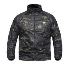 Одежда для охоты, военная тактическая куртка, Быстросохнущий ультра-светильник, тяжелое кожаное пальто, армейская уличная Водонепроницаемая Повседневная камуфляжная куртка