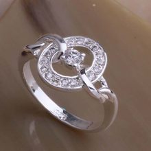 925 Sterling Silver Ring Fashion Jewerly Ring Women&Men terrific retaining ring /dsbamjia fhxanzea AR040(China)