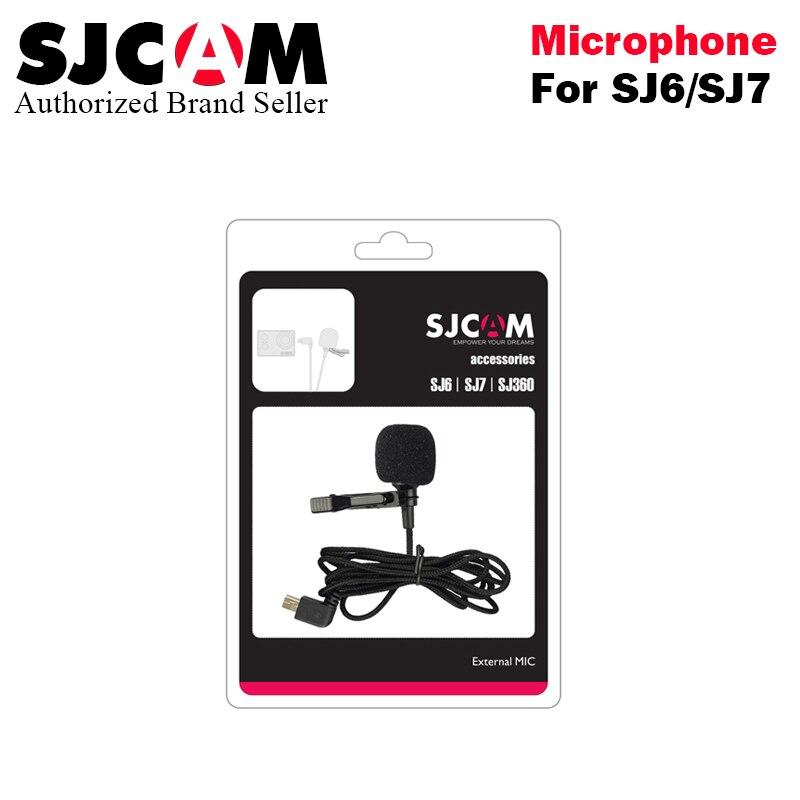 Original SJCAM SJ6 SJ6 LEGEND Accessories External Microphone MIC for SJCAM SJ6 LEGEND /SJ7 Star /SJ360 Sports Camera