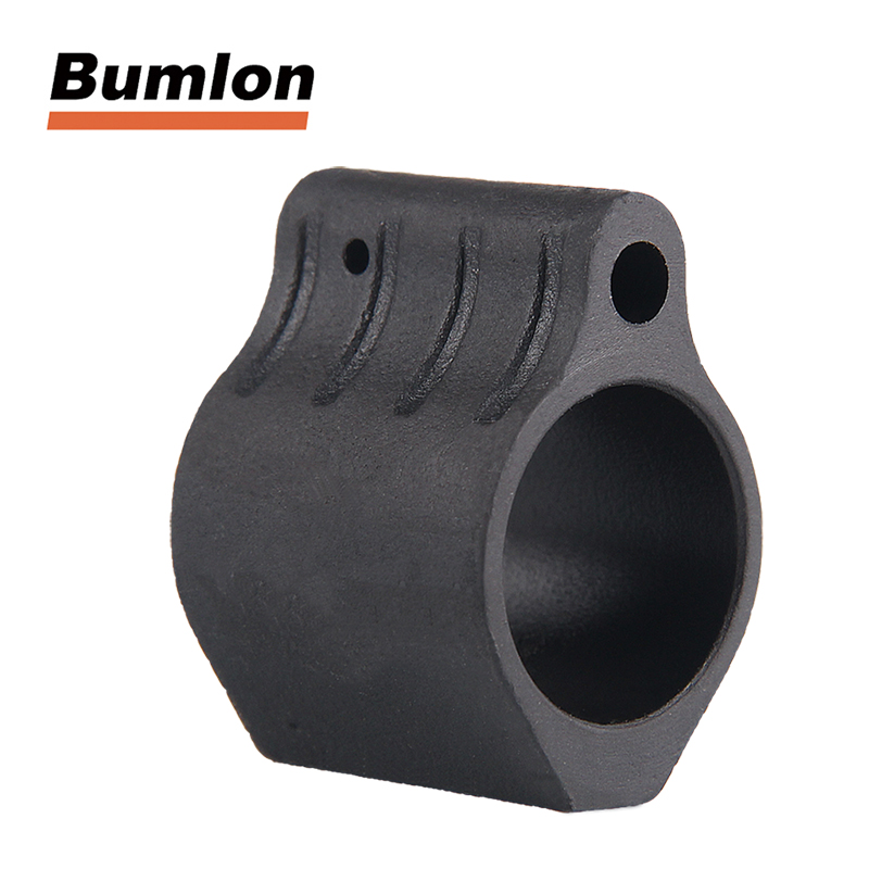 Hunting AR steel Low Profile Gas Block .750 556 5.56 223 300 + Roll pin For Airsoft HT1-0006