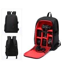 Сумка для фотографа мультифункциональный рюкзак для камеры видео водостойкая DSLR камера сумки для Nikon Canon камера рюкзак для камеры