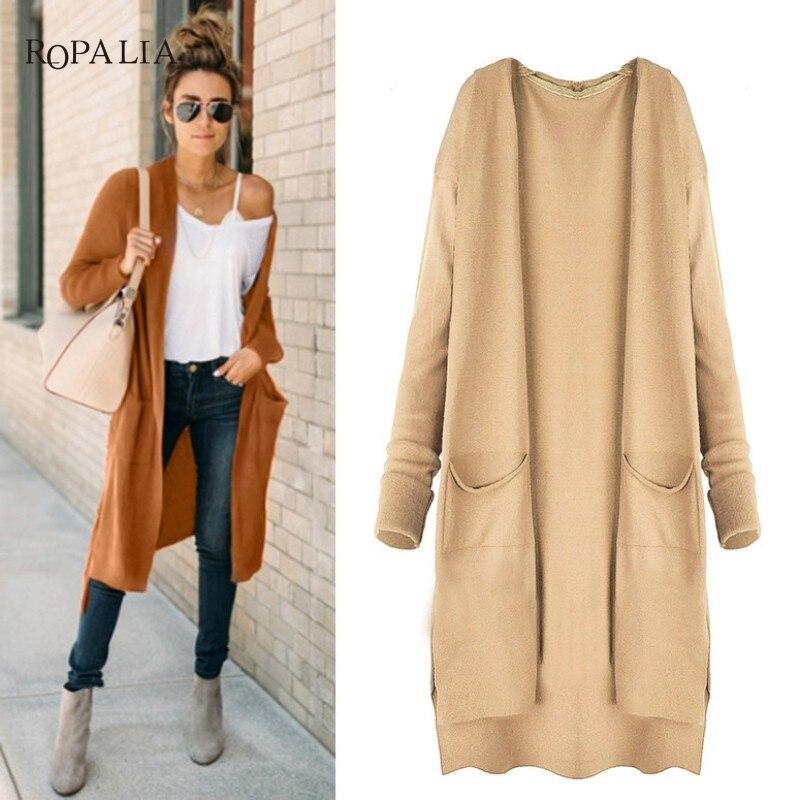 2018 Spring Autumn Women Slim Fashion Trench Casual Windbreaker Cape Coat European Linen Cardigan