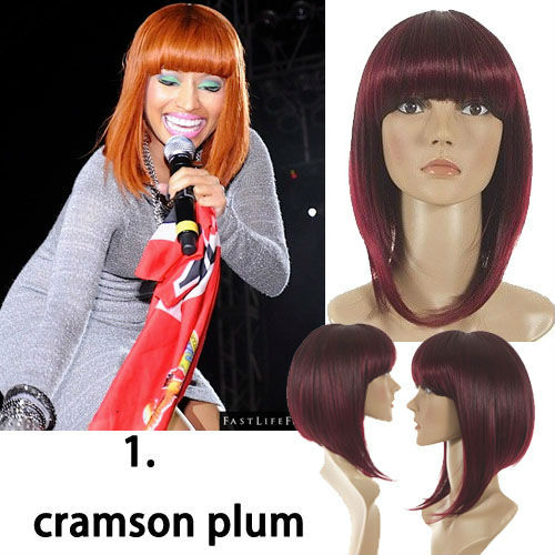 Brilliant Aliexpress Com Buy Inverted Bob Hairstyle Wig Nicki Minaj Short Hairstyles Gunalazisus