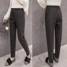 cdf1616fcd 2018 nuevo más tamaño formal Pantalones para mujer Oficina señora trabajo  estilo recto Pantalones ropa femenina