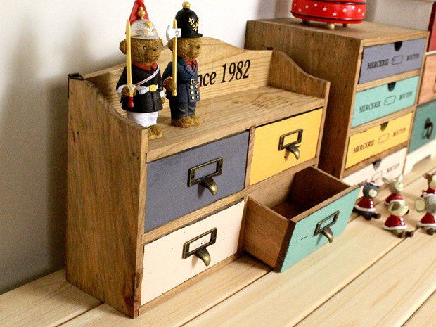 Zakka Wooden Box Containing Cabinet Storage Wood Decoration Home Furnishing Ideas