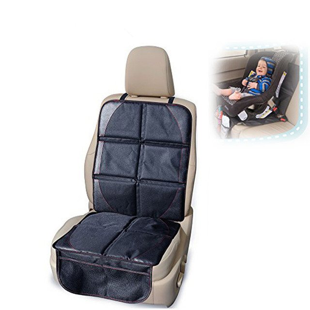 New Oxford PVC Leather Car Seat Cover Baby Child Safety Anti Friction Pad Auto Protector Mat Protection For Seats