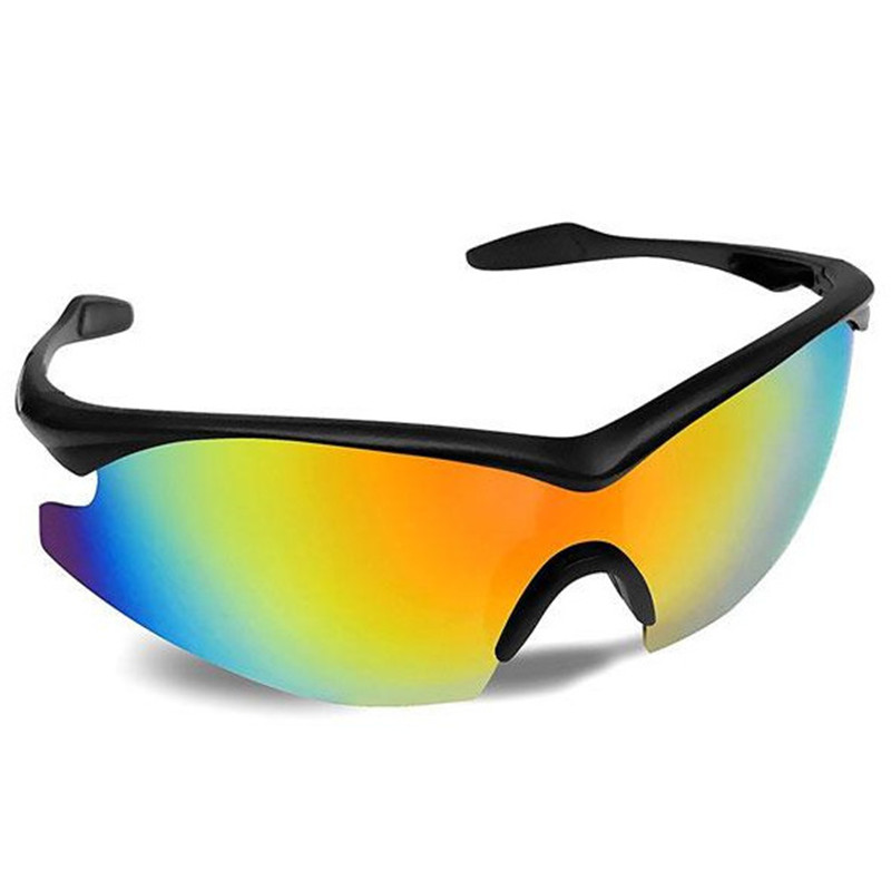 Ciclismo Óculos De Sol Masculino Mulheres Sunglesses Do Esporte Correndo óculos de Sol Estilo Aviador Militar Amarelo Tac Óculos Como visto na TV