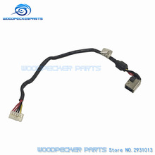 Free shipping DC power Jack Connector IN font b Cable b font for FOR DELL For