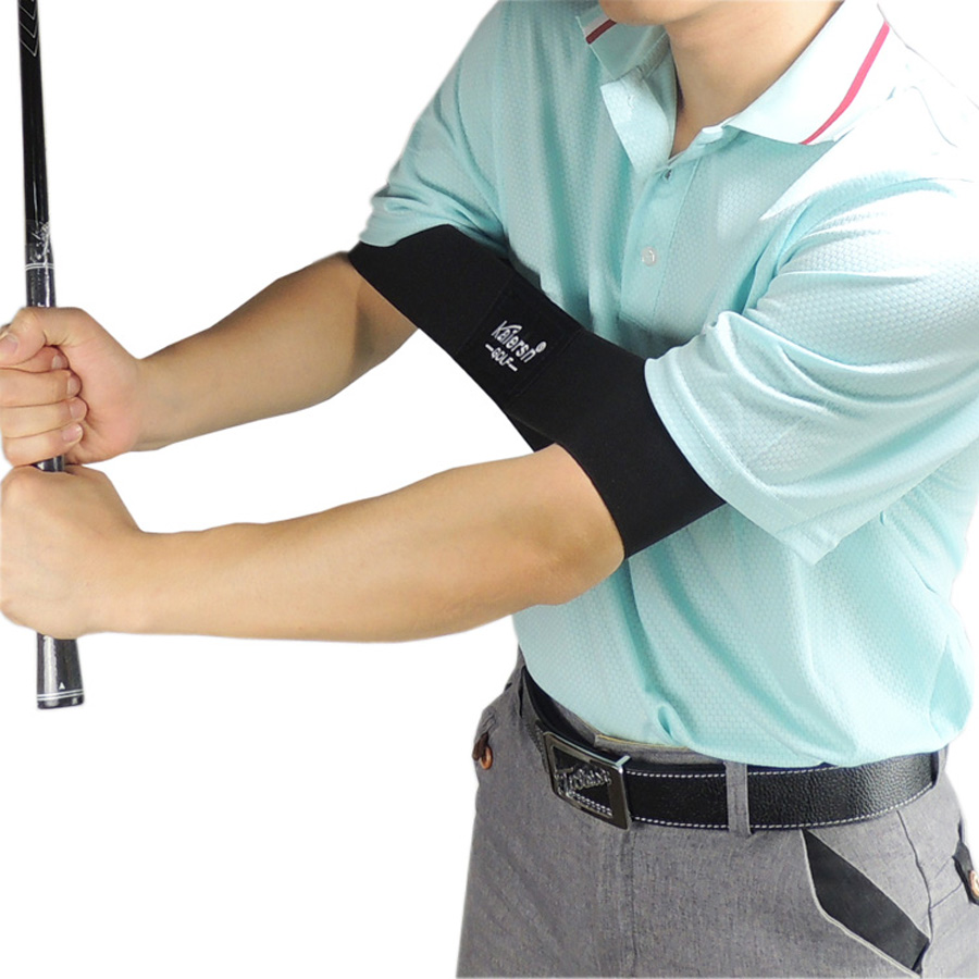 Golf Peralatan Golf Arm Motion Correction Belt Golf Swing Training membantu golf swing band