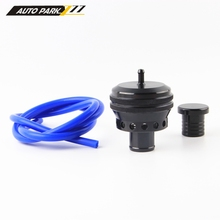 new product high quality auto aluminum 25mm port blow off valve turbo bov  black color