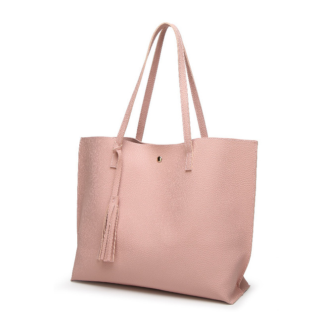 Woman PU Leather Large Capacity Female Shoulder Bag