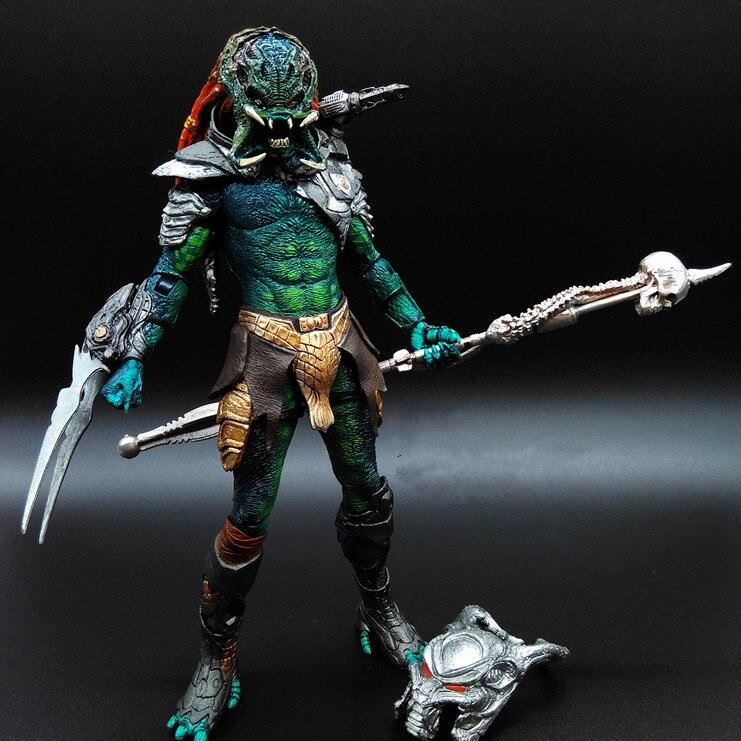 ФОТО predator action figure mater wolf predator pvc 200mm anime movie predator vs alien collectible model toy