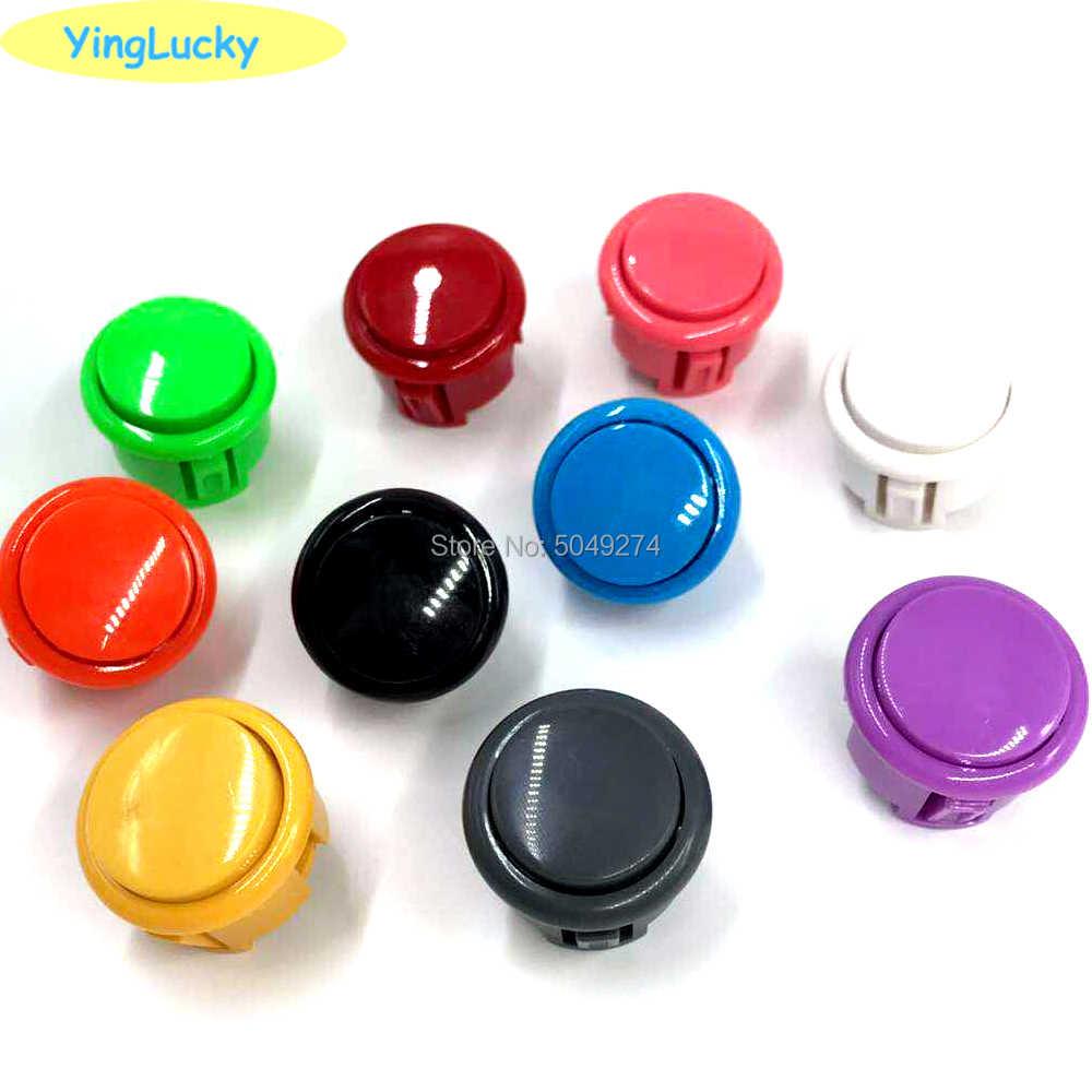 Yinglucky copia sanwa push button silenzioso obsf-30mm obsc-24mm pulsante per Arcade kit FAI DA TE kit di Arcade joystick gioco